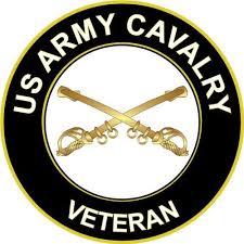 Magnet 3 8 Us Army Cavalry Veteran Decal Magnetic Sticker Walmart Com Walmart Com