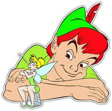 Peter Pan Tinkerbell Cartoon Car Bumper Window Sticker Decal 5 X4 1 Ebay