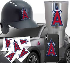 Baseball Hat La Anaheim Angels Car Window Vinyl Decal Sticker Choose 12 Colors Auto Parts And Vehicles Car Truck Graphics Decals Magenta Cl