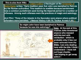 Revelation (Part One A)