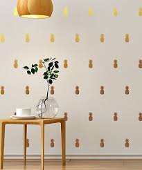 Ambiance Sticker Pineapple Wall Decal Set Of 25 Best Price And Reviews Zulily