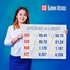 Банк Азии - Курс валют — одна из самых необходимых вещей,...