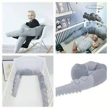 185cm Newborn Baby Bed Bumper Pillow Bumpers Infant Crib Fence Cotton Cribs 2019 713699767276 Ebay