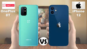 OnePlus 8T vs iPhone 12 - YouTube