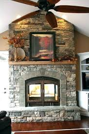 see through gas fireplace ideas