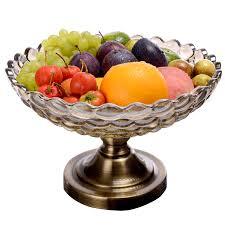 fruit plate european creative glass