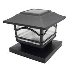Davinci Premium Solar Led Post Cap Light Outdoor Light For Fence Deck Or Patio Solar Powered Caps Warm White Lighting Aluminum Lamp Fits 4x4 Or 6x6 Posts Buy Products