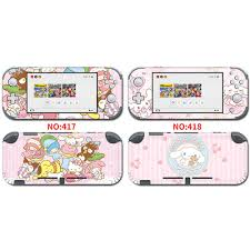 Cartoon Protective Sticker Vinyl Decal Protector Skin For Cinnamoroll Nintendo Switch Lite Ns Accessories Stickers Aliexpress