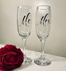 18pcs Set Mr Mrs Wine Glasses Sticker Wedding Champagne Glasses Decal Newly Weds Toasting Cup Decor Decal Party Banquet Eb017 Wall Stickers Aliexpress