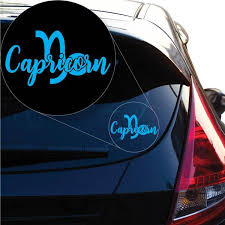 Capricorn Decal Sticker For Car Window Laptop And More 1175 Yoonek Graphics