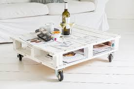 diy coffee table made from euro pallets