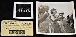 Rare color & bw photos * polly jenkins & her plowboys '40 country western  music   Sportscards.com