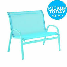 2 seater metal garden swing chair