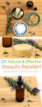 homemade natural mosquito repellent 2