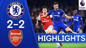 Chelsea 2-2 Arsenal   Premier League Highlights - YouTube