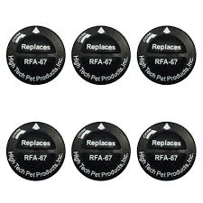 Rfa 67 6p Petsafe Replacement Battery 6 Pack By High Tech Pet