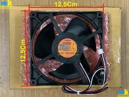 Quạt Tủ Lạnh Sharp Kích Thước Vuông 12,5Cm Loại 4 Dây ( Đỏ-Đen-Trắng-Xanh )  Và ( Đỏ-Đen-Nâu-Xanh ) - Điện Máy Minh Khang