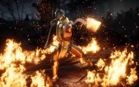 scorpion mortal kombat hd wallpapers