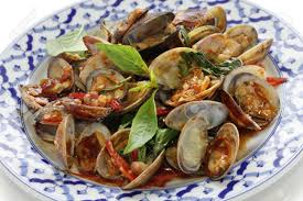 Stir Fried Clams With Roasted Chili ...
