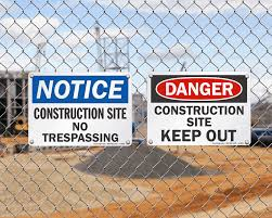Hire Rite Safety Series Construction Site Signage