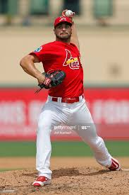 Tyler Lyons of the St Louis Cardinals throws the ball against the... News  Photo - Getty Images