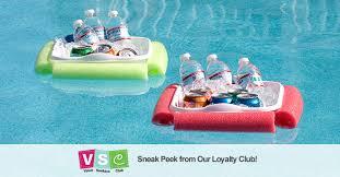 diy floating cooler for summer pool