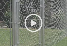 Guide To Installing A Chain Link Fence At The Home Depot Chain Link Fence Fence Cyclone Fence