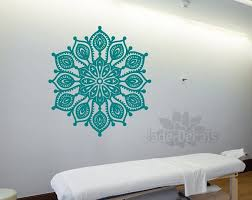 Mandala Wall Art Mandala Yoga Decal
