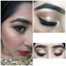 how to do wedding party makeup at home