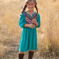 s boho tunic dress teal from