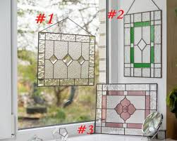 stained glass window panel new house
