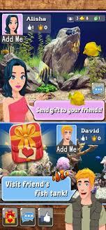 aquarium fish family games on the app