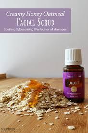 creamy honey oatmeal scrub