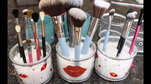 diy makeup brush cups you
