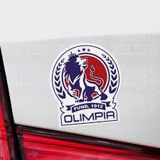 Deportivo Olimpia Honduras Vinyl Sticker Decal Pack 10 Stickers Pandemic Soccer