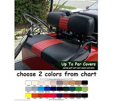 e z go txt custom golf cart front seat