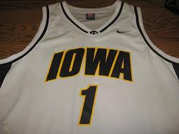 Iowa Hawkeyes Adam Haluska Replica Basketball Jersey Size XL   #1761714033