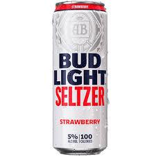 bud light seltzer strawberry hand