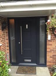 antracite grey dakota composite door