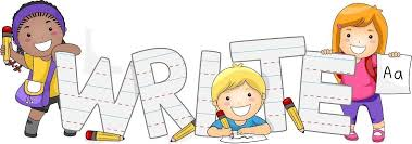 Group Of Children Writing Clipart | Letters Format pertaining to ...