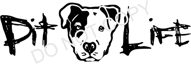 Amazon Com Tshirt Rocket Pit Life Graphic Pit Bull Pitbull Dog Vinyl Car Decal Laptop Decal Car Window Wall Sticker Boat 6in White Automotive