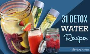 31 detox water recipes diy joy