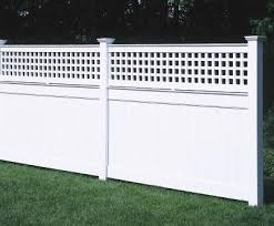 4 Ft Universal With Lattice Topperfrom Walpole Outdoors Walpole Outdoors Wood Fence Railings Outdoor