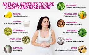 home remes for acidity and heartburn