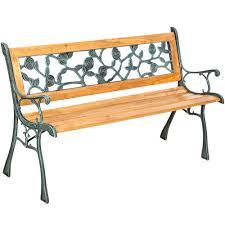 garden bench marina made of wood and