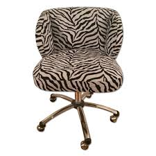 Pottery Barn Teens Zebra Pattern Kids Desk Pneumatic Chairs On Wheels Aptdeco