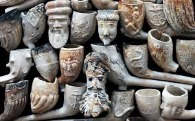 Image result for 17th century clay tobacco pipes