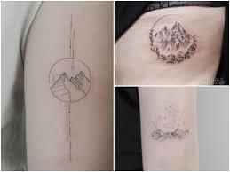 Tatuaz Gory 22 Ciekawych Pomyslow Na Tatuaz Etatuator Pl