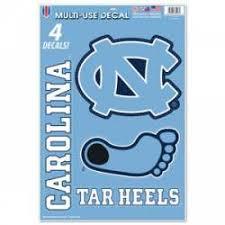 North Carolina Tar Heels Stickers Decals Bumper Stickers