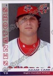 2010 Harrisburg Senators Adam Carr – Go Sports Cards